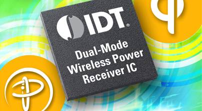 IDT announces enhanced dual-mode wireless power solution