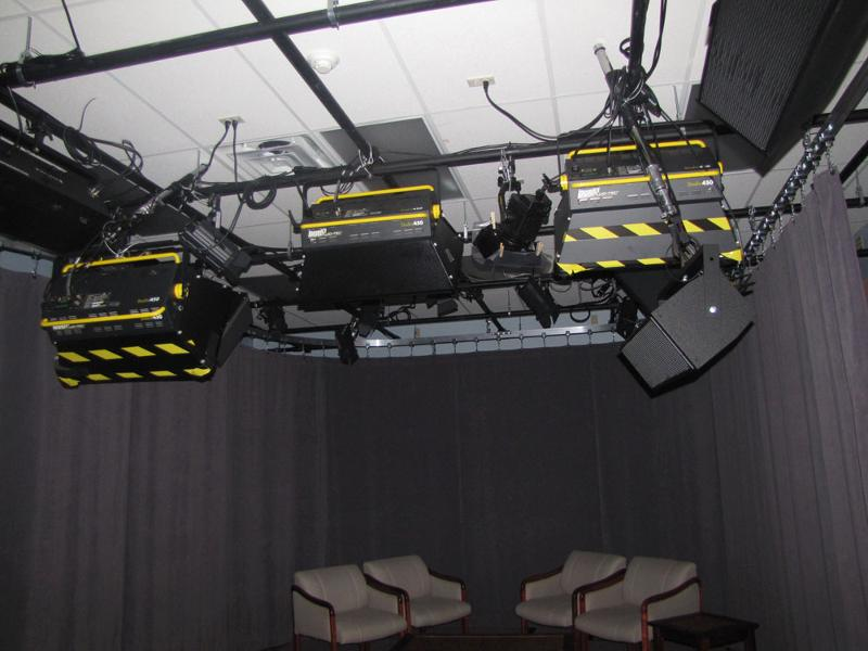 Barbizon Lighting Supplies Energy Efficient Bbc Tv Studio