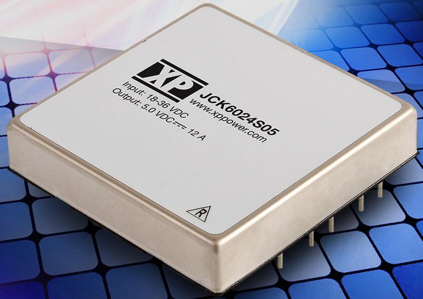 Convection-cooled 60-W DC-DC converter achieves 92% efficiency