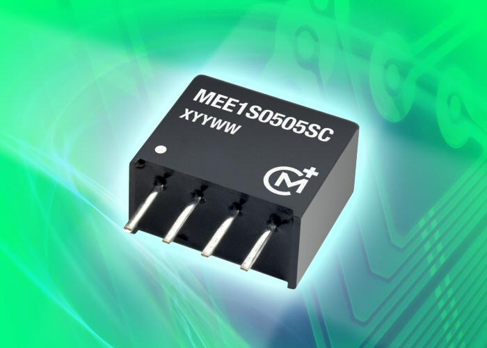 Murata isolated 1-W DC-DC converter offers tight load regulation and improved efficiency