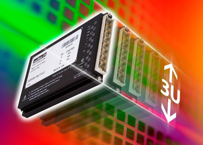 Murata energy-efficient DC-DC converter features 8:1 input-range for railway applications