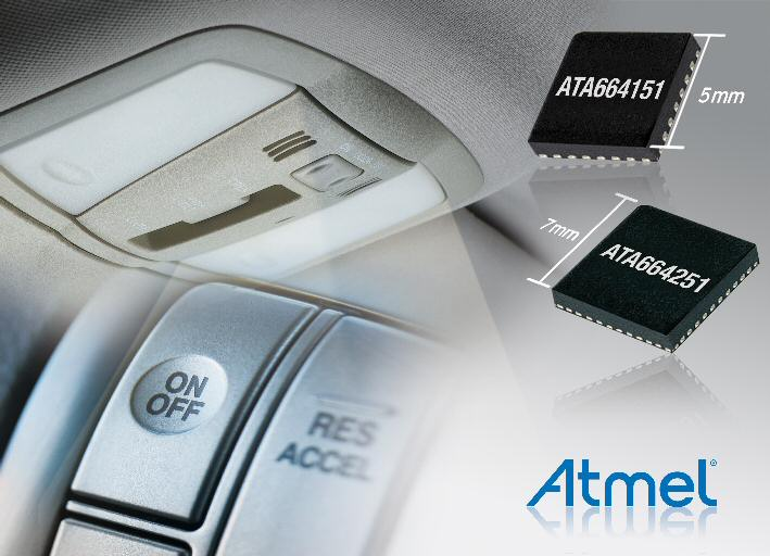 Atmel introduces miniature low-power LIN Family for automotive applications