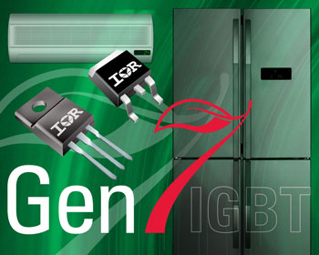 IR's New 600V IGBTs Deliver Higher Power Density and Increased Efficiency for Motor Drive Applications