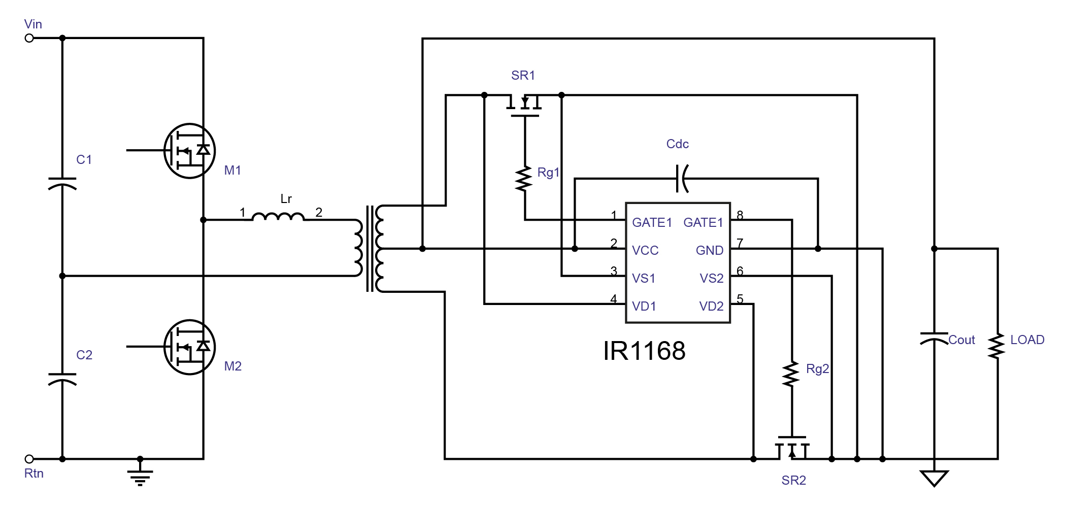 Led Street Lighting H Bridge Circuit Design The Shown In Figure 3 Illustrates Resonant Half With Step Down Transformer And A Synchronous Rectification Stage At Secondary To