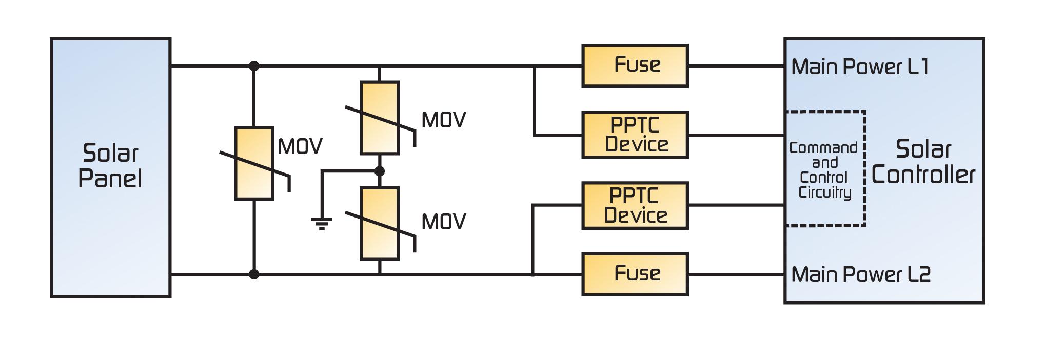 Tecp Psde Solar Fig on Mov Surge Protection Circuit Diagram
