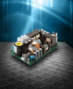 Single-output 200W AC/DC power supplies from XP acheive an industry-leading 95% efficiency