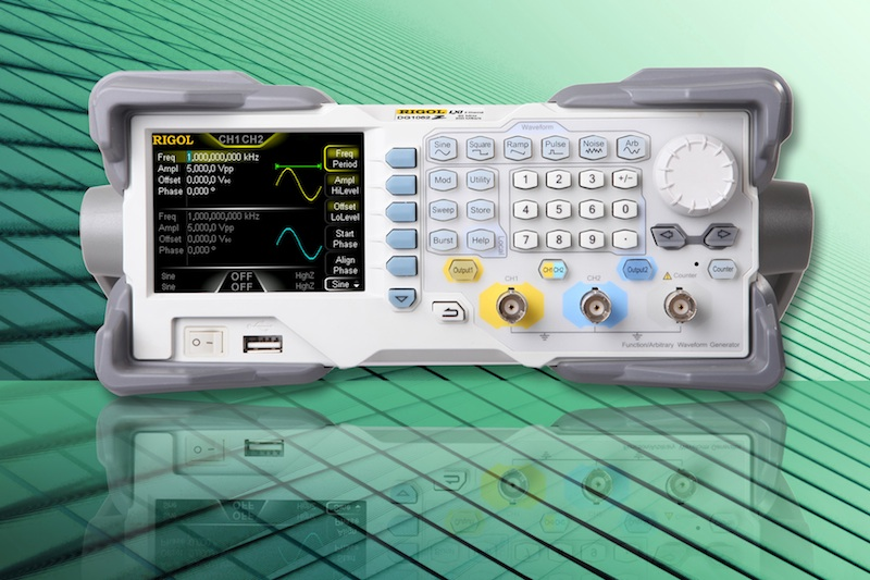 RIGOL Technologies introduces the DG1000Z series arbitrary waveform generators