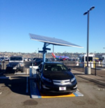 Envision Solar trials mobile & autonomous electric vehicle charging station at San Diego International Airport