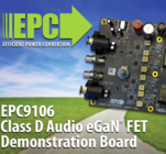 EPC demo board provides quality sound with 96% efficiency
