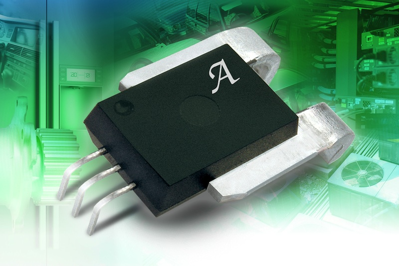 Allegro's linear current-sensor IC is thermally enhanced for high precision