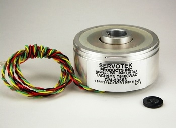 Brushless DC Tachometer/Commutators from ServoTek Products Aid in Industrial Motor Speed Monitoring