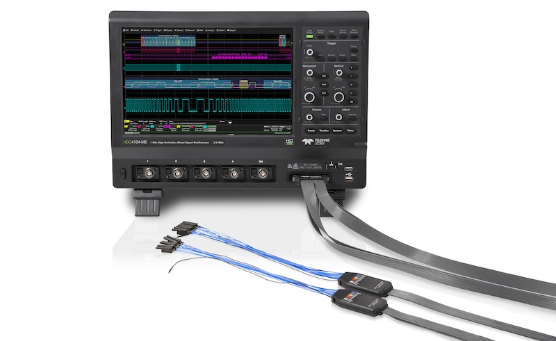 Teledyne LeCroy adds mixed-signal capabilities to HDO high-definition oscilloscopes