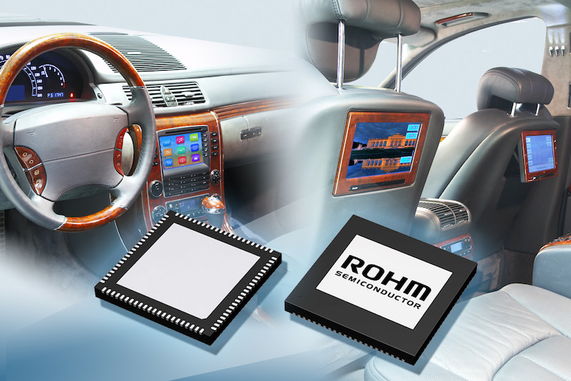 ROHM introduces a complete system PMIC for Intel Bay Trail I platforms