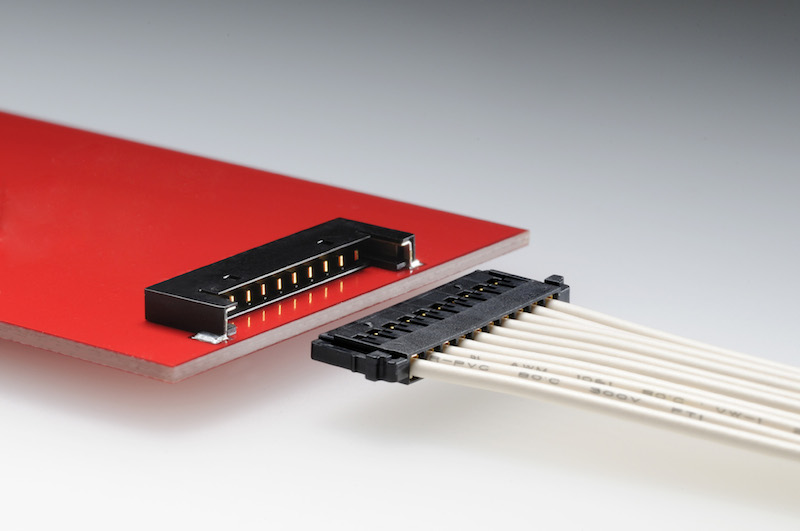 Molex Pico-Lock low-profile SMT wire-to-board system offers high current capability with space savings