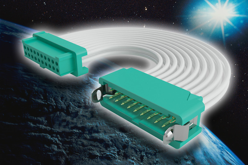 Harwin's hi-rel Gecko connectors serve in international miniature CubeSat satellites