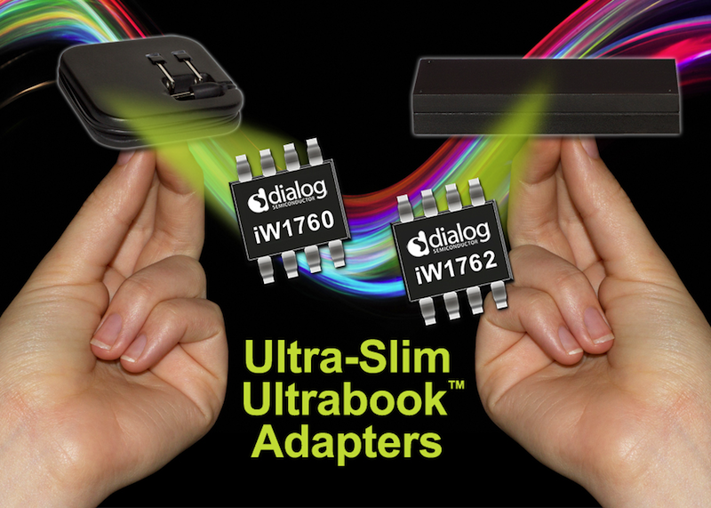 Dialog's reference design enables smaller low-power Ultrabook adapters