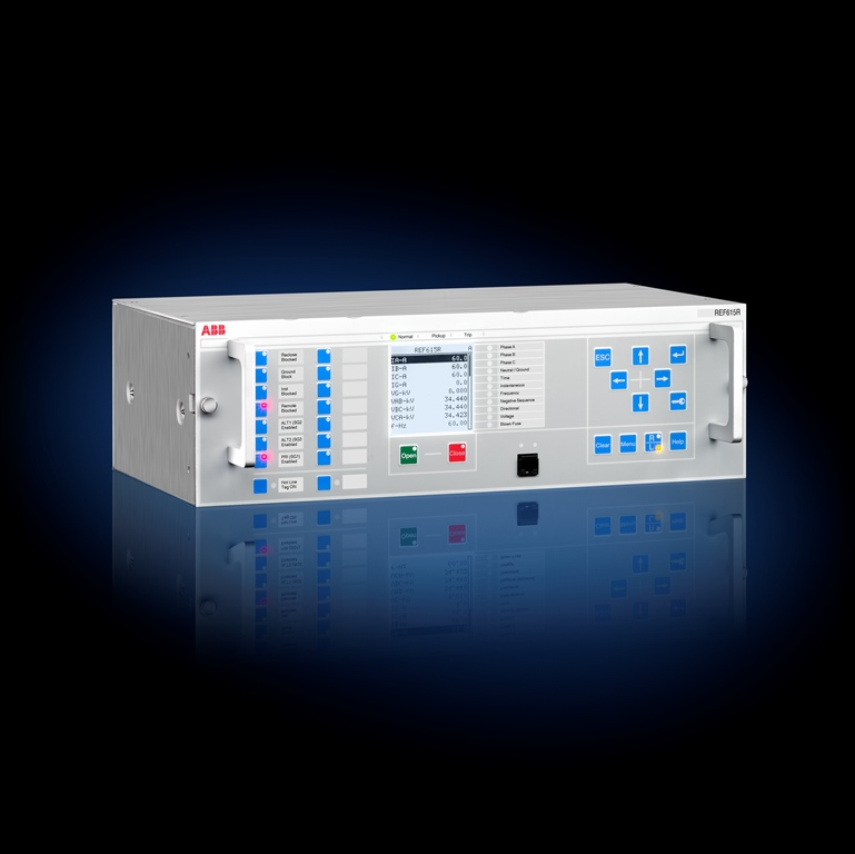 ABB expands Relion distribution relay portfolio with the REF615R
