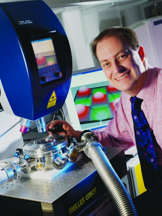 Professor Markys Cain on the Nanostrain Project for accelerated processor speeds