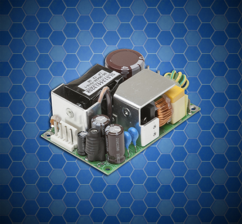 SL Power's 60W high-density supply suits medical applications