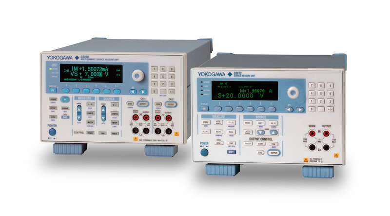 Yokogawa extends the scope of their SMU offering with two new models
