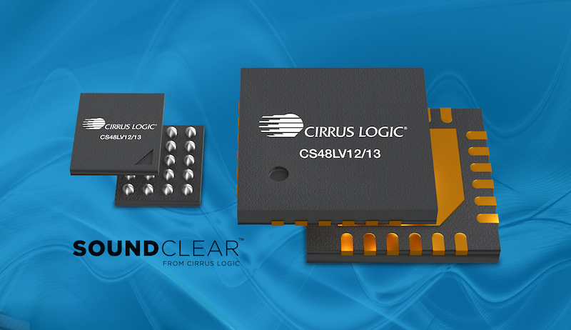 Ultra-low power Cirrus Logic voice processors offer integrated SoundClear technology