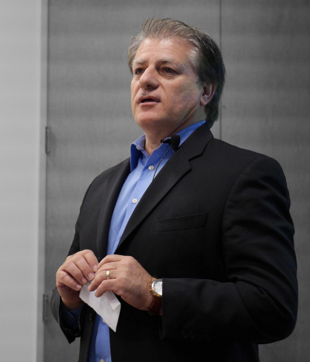 Reza Kazerounian of Atmel at embedded world 2014