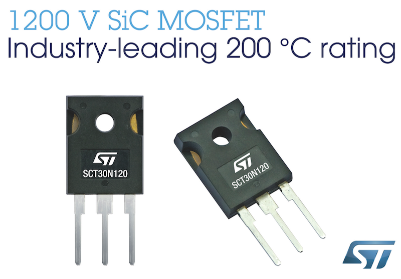 STMicro reveals climate-saving SiC-based power devices that perform at high-temperatures