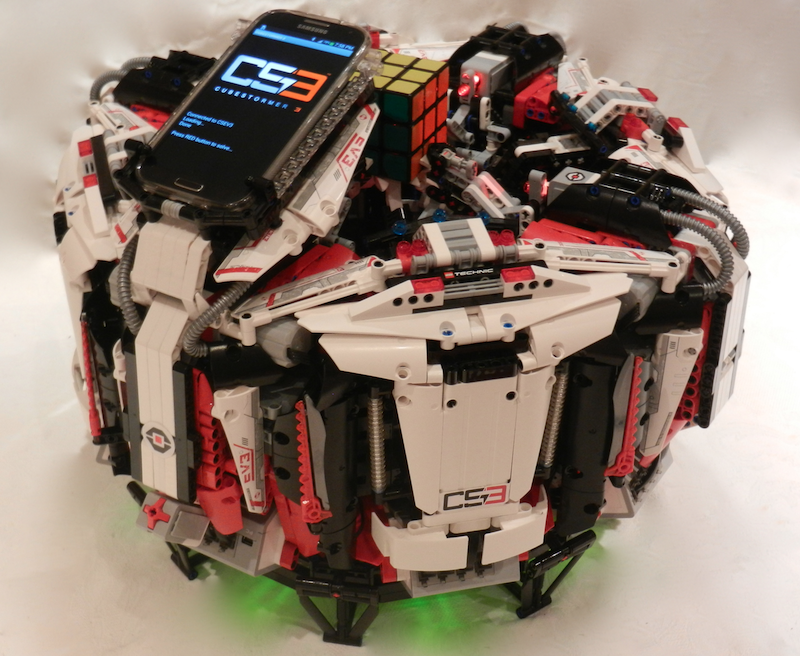 ARM-powered robot breaks world speed record for solving a Rubik's Cube