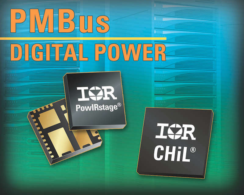 IR's CHiL digital PWM controllers and integrated solutions provide optimized end-to-end solutions with PMBus