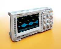 Rigol's DS2000A digital oscilloscope offers greater signal resolution and accuracy