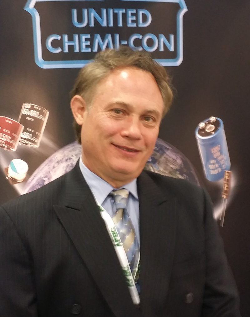 Tony Alita of United Chemi-Con at APEC 2014