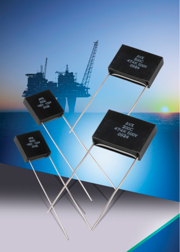 AVX expands its high temperature, SXP-style SMPS capacitor series