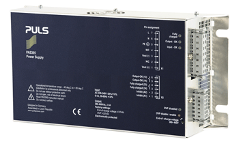 Puls high-capacity power supply and charger for UltraCaps available from HPI Sales
