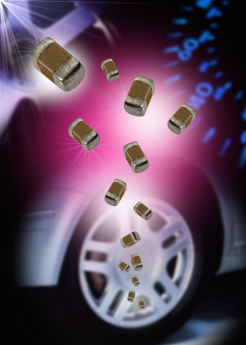 AVX releases high-voltage automotive MLCC series