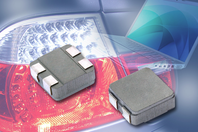 Vishay Intertechnology composite-coupled inductors use IHLP technology