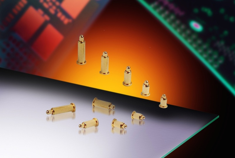 AVX's pogo-pin contacts serve harsh, high-lifecycle apps