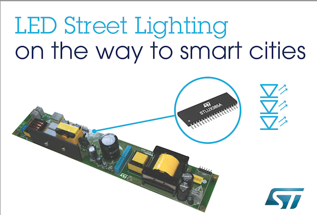 STMicro to jump-start municipal savings by accelerating street-light conversions