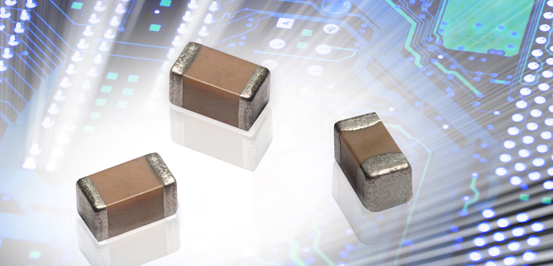 AVX expands the capacitance range for its X7R and NP0 (C0G) high-voltage multilayer ceramic chip capacitors