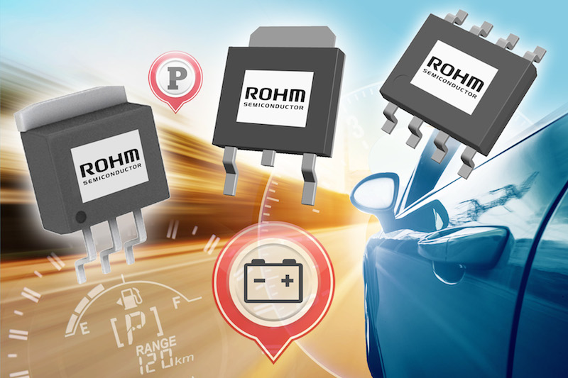 ROHM's latest LDOs target automotive applications