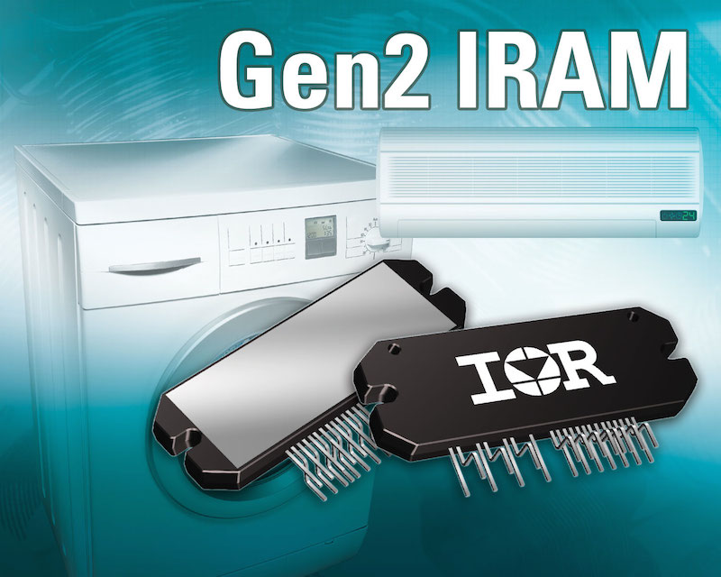 IR's IPM family shrinks and simplifies appliance motor drive design