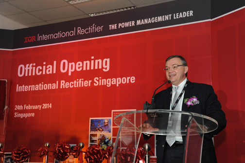 International Rectifier opens advanced processing facility in Singapore