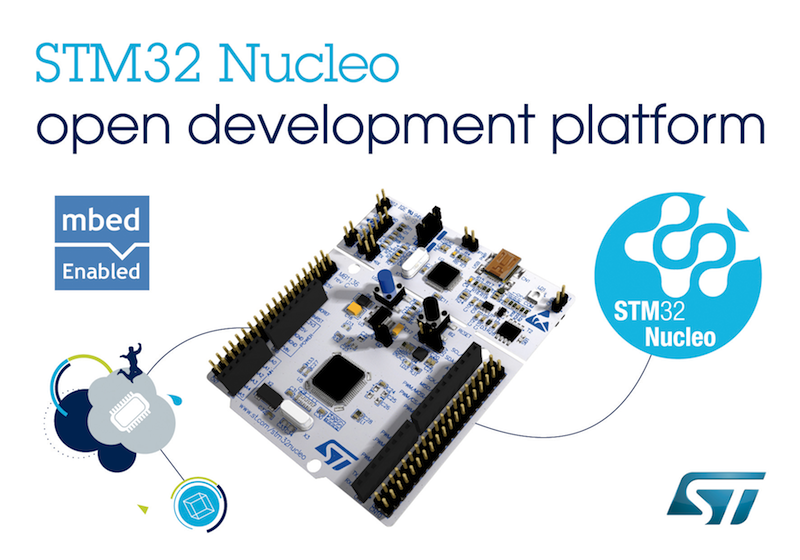 STMicro launches extensible platform for efficient prototyping with STM32 microcontrollers