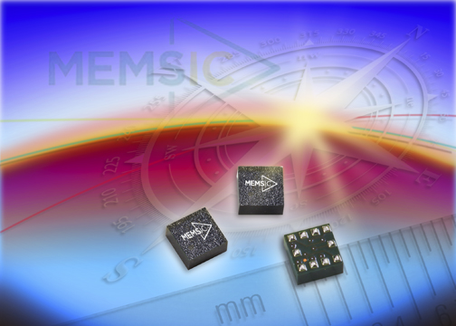 MEMSIC claims world's highest performance three-axis magnetic sensor