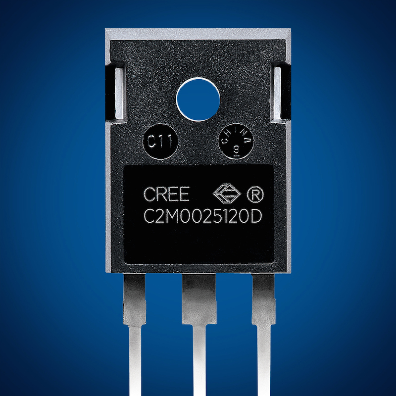 Cree claims first silicon carbide 1200V/25mΩ MOSFET in a TO-247