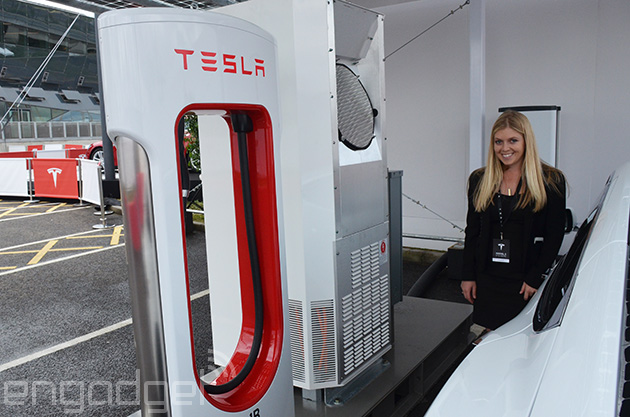 Tesla to open up its Supercharger patents to boost electric car adoption