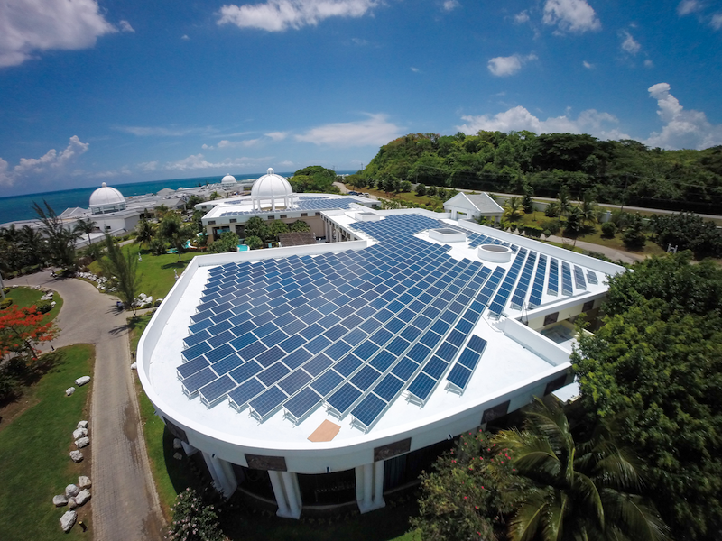 Jamaica's largest PV power plant launches with a capacity of 1.6 megawatts