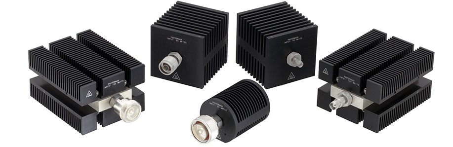 Pasternack expands medium- and high-power RF load offering