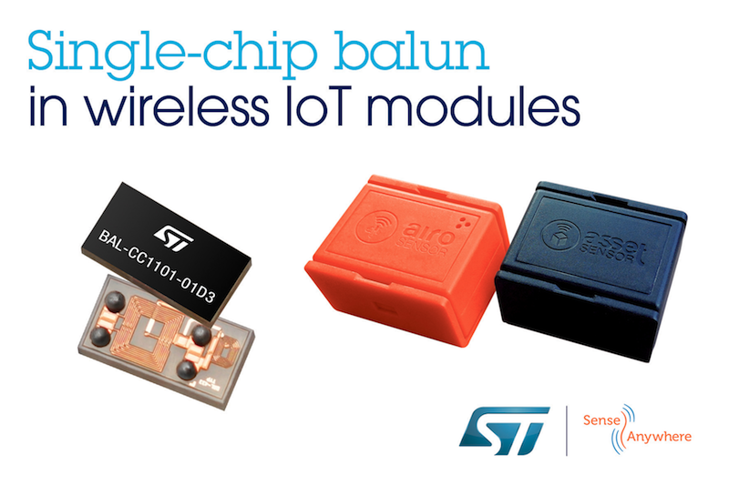 STMicroelectronics empowers wireless modules from SenseAnywhere