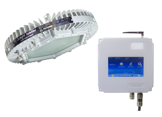 Dialight's hazardous-area LED fixture is first with integrated wireless control