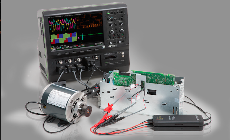Teledyne LeCroy's latest 8-Channel 12-bit 1GHz-bandwidth oscilloscope offers HD4096 technology